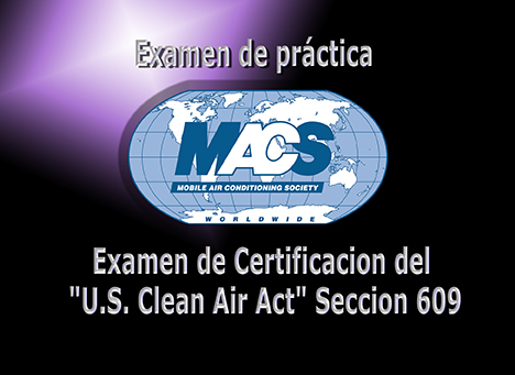 Section 609 Practice Exam Spanish
